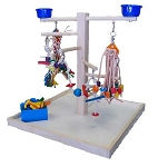 Zoo-Max Wood Play Stand Medium