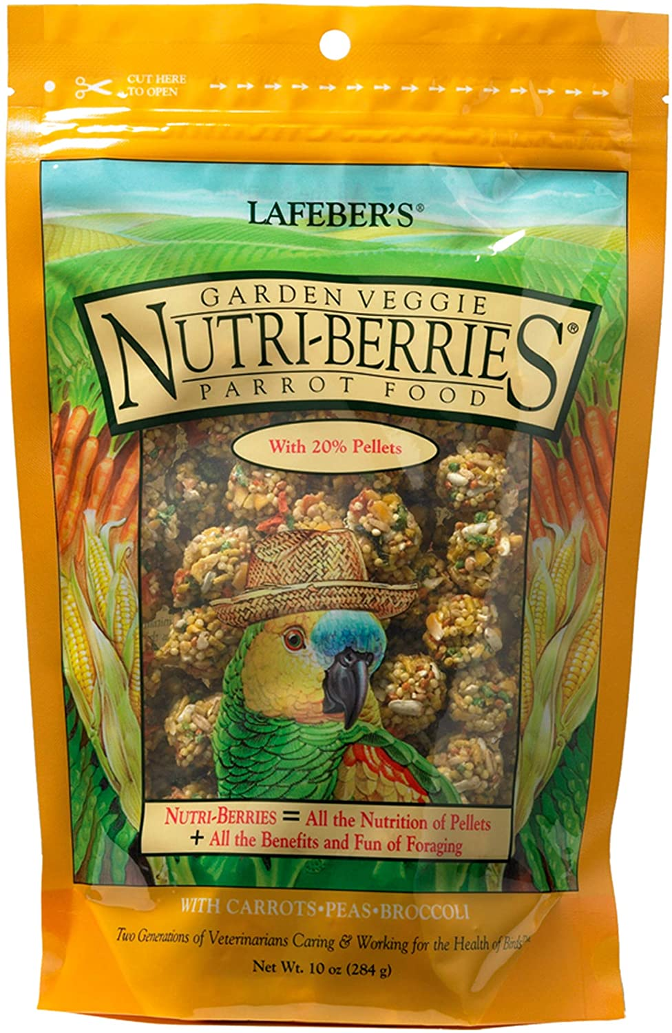 Nutriberries Garden Veggie Parrot 10oz