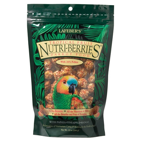 Nutriberries Tropical Fruit Parrot 3lb
