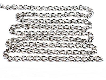 Nickel Plated Chain 2.2mm - 1 Foot