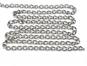 304 Stainless Steel Chain 2.5mm - 1 Foot