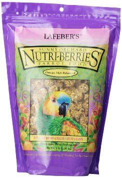 Nutriberries Sunny Orchard Parrot 10oz