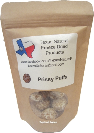 Texas Natural Freeze Dried Prissy Puffs