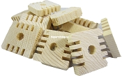 Natural Thin Groovy Wood 25pk