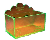 Medium Toy Box (Clear)