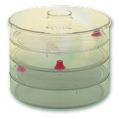 BioSnacky 3 Tier Sprouting Jar
