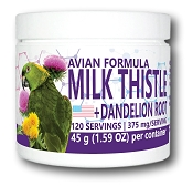 Equa Holistics Milk Thistle and Dandelion Root Powder 45g