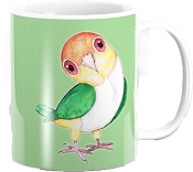 Caique Parrot Coffee Mug 11oz