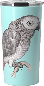 African Grey Travel Mug 20oz: PRE-ORDER