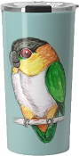 Black Headed Caique Mug 20oz: PRE-ORDER