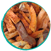 Tango's Freeze Dried Spiced Up Sweet Potatoes