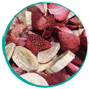 Tangos Freeze Dried Strawberries & Bananas