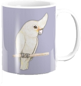 Goffins Cockatoo Coffee Mug 11oz: PRE-ORDER