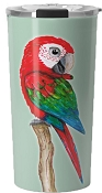 Green Wing Macaw Travel Mug 20oz: PRE-ORDER