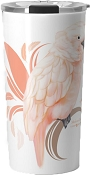 Moluccan Cockatoo Travel Mug 20oz: PRE-ORDER