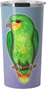 Orange Winged Amazon Travel Mug 20oz: PRE-ORDER
