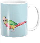 Pineapple Conure Coffee Mug 11oz: PRE-ORDER