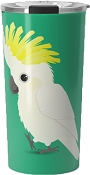 Sulpher-crested Cockatoo Travel Mug 20oz: PRE-ORDER