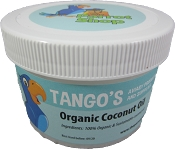 Tango's Organic & Sustainable Coconut Oil 8oz