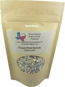 Texas Natural Freeze Dried Sprouts