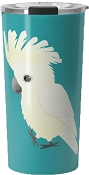 Umbrella Cockatoo Travel Mug 20oz: PRE-ORDER