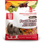 Zupreem Fruitblend Diet Medium/Large Parrot: 2lb, 3.5lb, 12lb, 17lb, 35lb