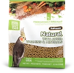 Zupreem Natural Medium Cockatiel/Conure 2.5lb, 20lb