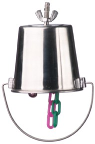 Stainless Steel Busy Bucket - Medium (Cage Mount)