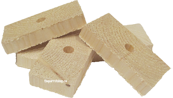 "1/2"" Natural Pine Rectangles 10pk"