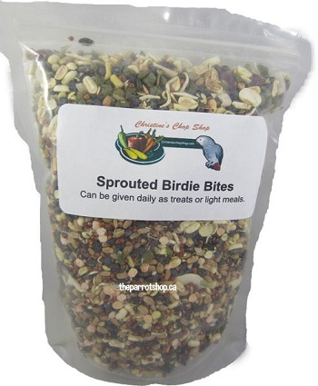 Christine's Chop Shop - Sprouted Birdie Bites