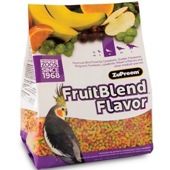Zupreem Fruitblend Diet Medium Cockatiel/Conure 2lb