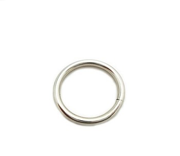 Nickel Plated O Ring 16mm - 5pk