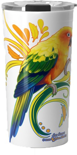 Sun Conure Travel Mug 20oz