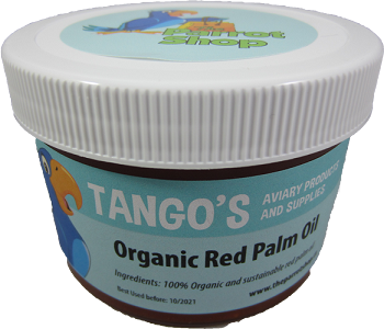 Tango's Organic & Sustainable Red Palm Oil 8oz