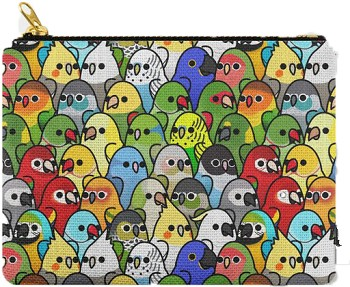 Too Many Birds Carry All Pouch: PRE-ORDER