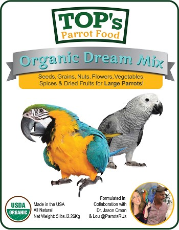 Totally Organic Dream Mix 5lb - Large Bird